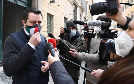 Ponte Stretto: Salvini, mi aspetto che Draghi lo rilanci © ANSA