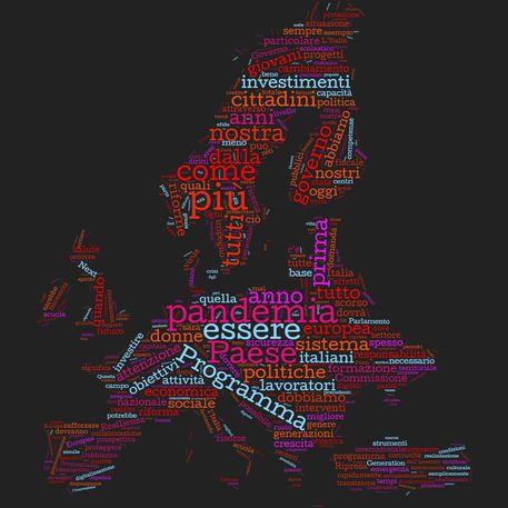 Draghi, le parole più ricorrenti del discorso © Ansa