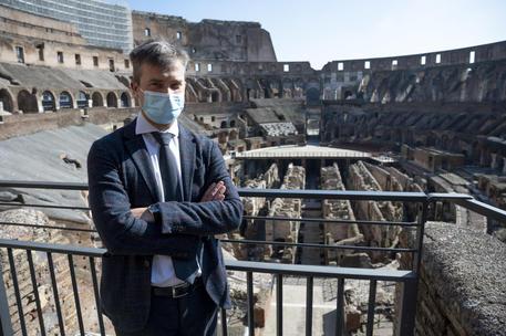 Il nuovo direttore del Parco archeologico di Paestum Gabriel Zuchtriegel © ANSA