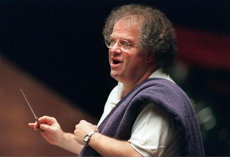 James Levine, storico direttore orchestra Met Opera © EPA