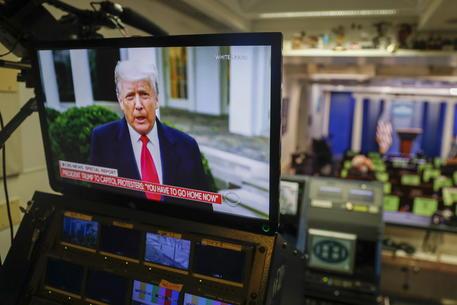 Donald Trump lancia un sito web sulla sua pesidenza © EPA