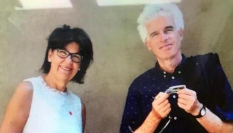 Peter Neumair e Laura Perselli, i due insegnati bolzanini in  pensione di 63 di 68 anni uccisi dal figlio Benno © ANSA