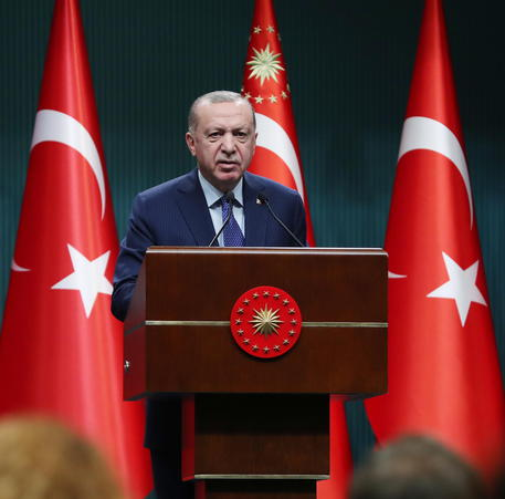 Erdogan (archivio) © EPA
