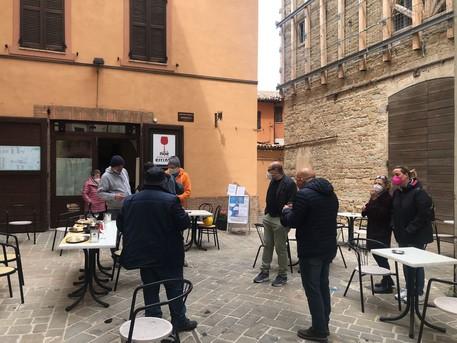 Terremoto: riapre ristorante in centro storico Camerino thumbnail
