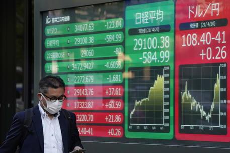 Borsa: a Tokyo apertura in lieve ribasso (-0,20%) thumbnail