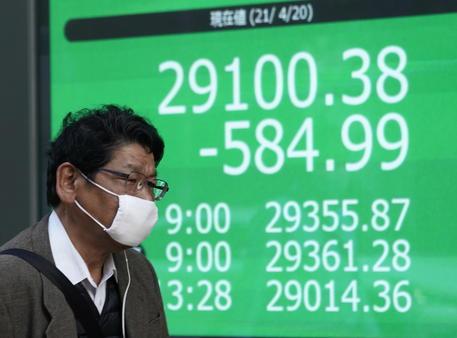 Borsa: a Tokyo apertura in netto ribasso (-1,56%) thumbnail