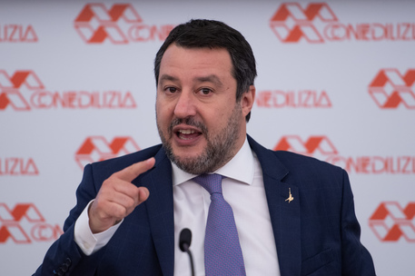 Dl Covid: Salvini, ha disatteso l'accorso con enti locali thumbnail