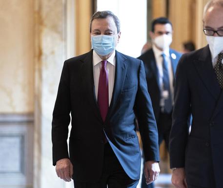 Recovery:bozza;Draghi, vincere sfida per Paese più moderno thumbnail