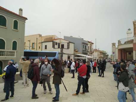 Covid: flash mob di ristoratori nei luoghi di Montalbano thumbnail