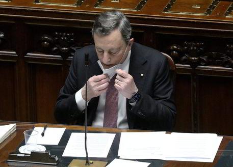 Draghi, primo obiettivo Recovery riparare danni pandemia thumbnail