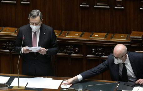 Draghi,ho fiducia in italiani,certo che attueremo Recovery thumbnail