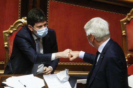 """Al Senato la mozione di sfiducia a Speranza. Il ministro: """"Serve unità contro il virus, il piano pandemico ora c'è"""" thumbnail"""