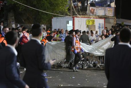 Israele: incidente monte Meron, bilancio 44 morti e 65 feriti thumbnail