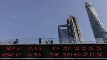 Borsa: Shanghai apre a +0,14%, Shenzhen a + 0,09% thumbnail