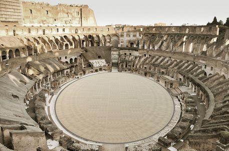 High tech e green, ecco come sarà l'arena del Colosseo thumbnail