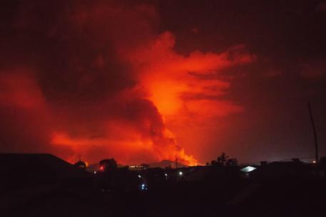 Il vulcano Nyiragongo © AFP