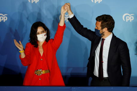 Regional elections in Madrid © EPA