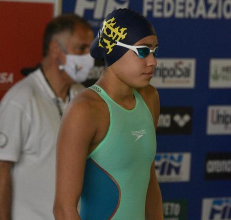 Dall'Abruzzo all'Aniene per un sogno, nuotatrice 13enne da record thumbnail