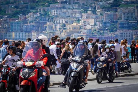Il lungomare di Napoli © ANSA