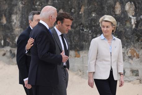G7: Von der Leyen, vedute comuni dei leader Ue su Covid e Cina thumbnail