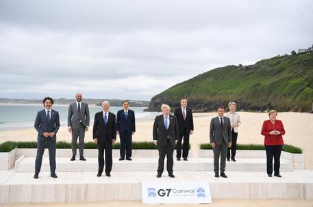 G7: Draghi vede Johnson, sintonia su politica verde thumbnail