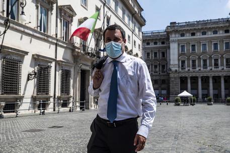 Covid: Salvini: 'Le mascherine? spero libertà di respiro a breve' thumbnail