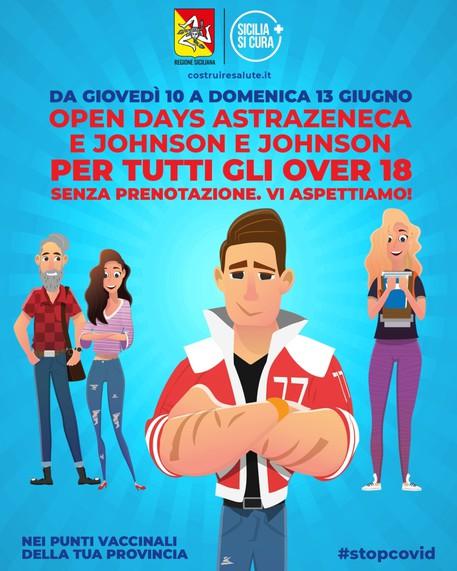 """Vaccini; da domani torna """"porte aperte"""" in hub in Sicilia - Sicilia -  ANSA.it"""