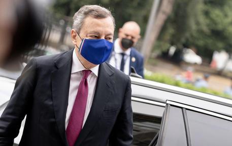 Il premier Mario Draghi © ANSA