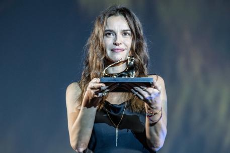 Kasia Smutniak premiata al Festival di Locarno © ANSA