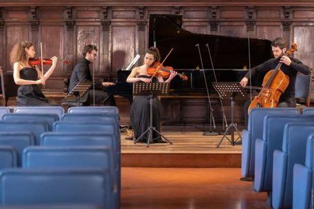 S. Cecilia, Mahler e Strauss per il Quartetto Werther - Lazio