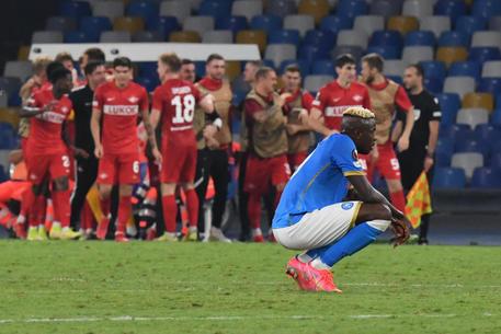 Europa League:Lazio 2-0 a Lokomotiv,Napoli sconfitto in casa - Lazio