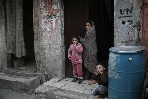 Al Shateaa refugee camp in Gaza