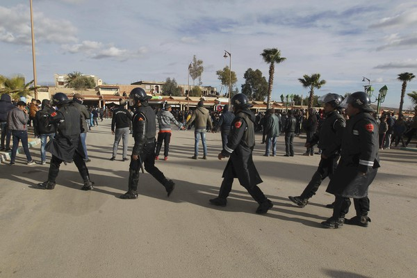 Morocco Jerada Protests