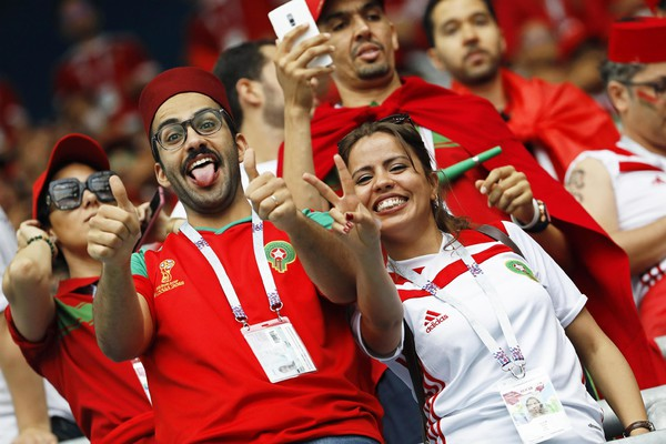 Group B Morocco vs Iran