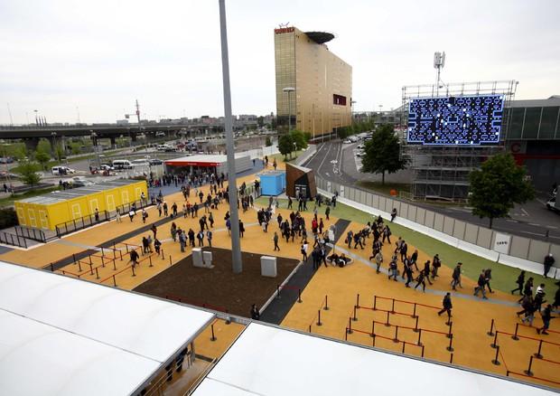 Expo: primi arrivi © ANSA