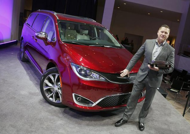 Chrysler Pacifica è North American Car of the Year Utility © NACOTY