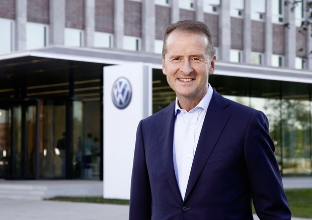 Il Ceo di Volskwagen, Herbert Diess © Volkswagen Press