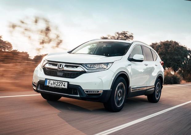 Schema Elettrico Auto : Honda cr v hybrid unelettrica che si alimenta col motore prove