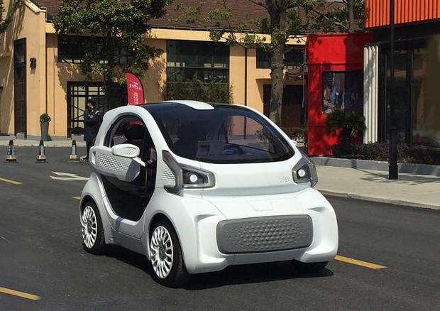 Parla Torinese Mini Auto Elettrica Cinese Stampata In 3d Industria