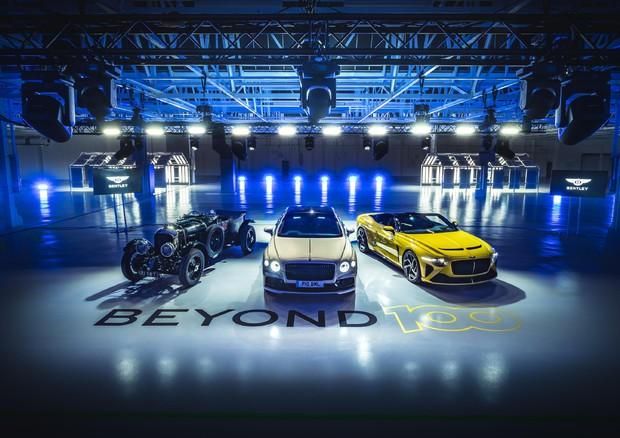 Bentley, futuro di lusso a basso impatto ambientale © ANSA