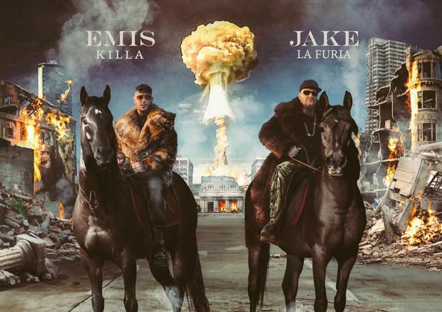 Emis Killa e Jake La Furia (ANSA)