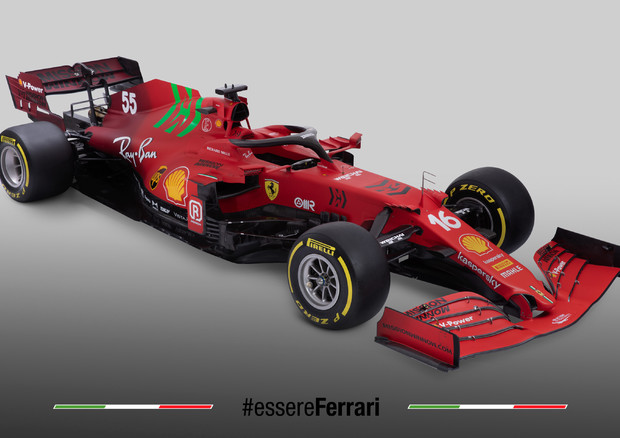 Ferrari SF21 © Ansa