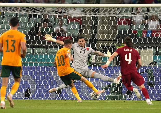 Turchia-Galles 0-2, decidono Ramsey e Roberts - Europei 2020 - ANSA.it