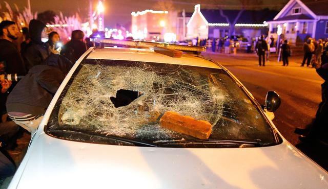 Ferguson Grand Jury decision in Michael Brown shooting © Ansa