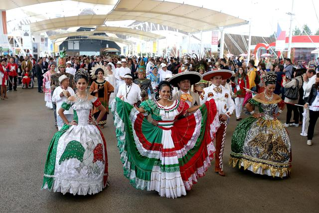 Expo 2015: National Day Messico