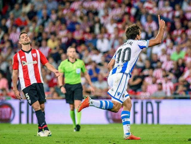LaLiga: Athletic Bilbao-Real Sociedad 1-3 - Calcio - Ansa.it