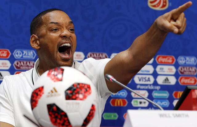 Ciclone Will Smith alla cerimonia di chiusura