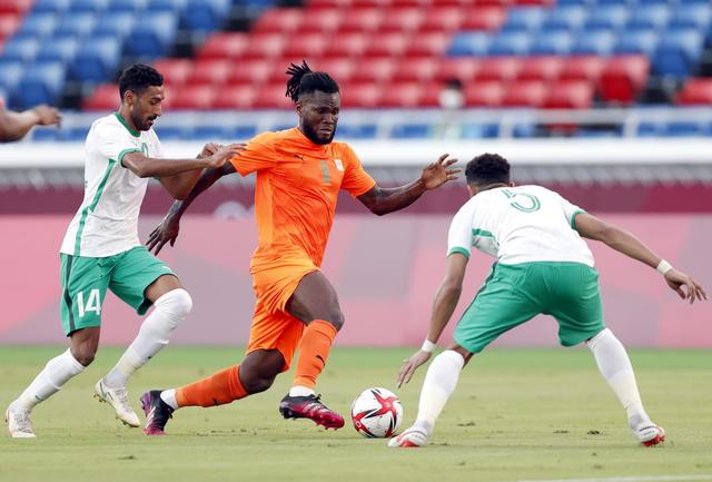 Kessie-gol, Costa d'Avorio batte Arabia Saudita 2-1 a Tokyo - Olimpiadi  Tokyo 2020 - ANSA.it