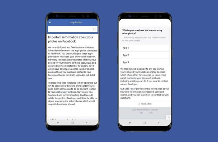 Facebook: nuovo bug, esposte le foto di potenziali 6,8 milioni utenti