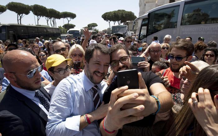 Migranti, Salvini: 'Per i clandestini finita pacchia' – ANSA.it